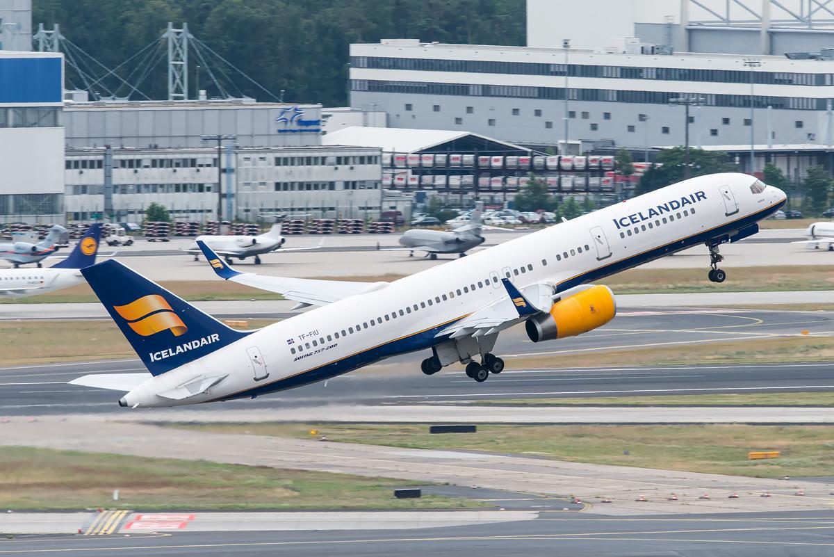 Icelandair Boeing 757-200 TF-FIU  Icelandair Boei...