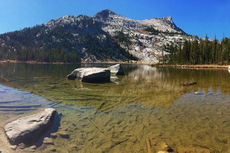 Panorama Yosemite NP - Elizabeth Lake