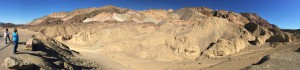 Panorama - Death Valley - Artist's Palette