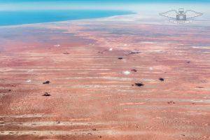 Sahara Desert in Mauretania