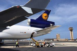 Apron of Dakar Airport, Senegal