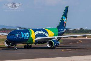 AZUL Airbus A330 - PR-AIV at Viracopos/Campinas Airport, Brazil.