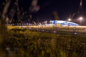 Airport Terminal of Montevideo MVD, Uruguay.