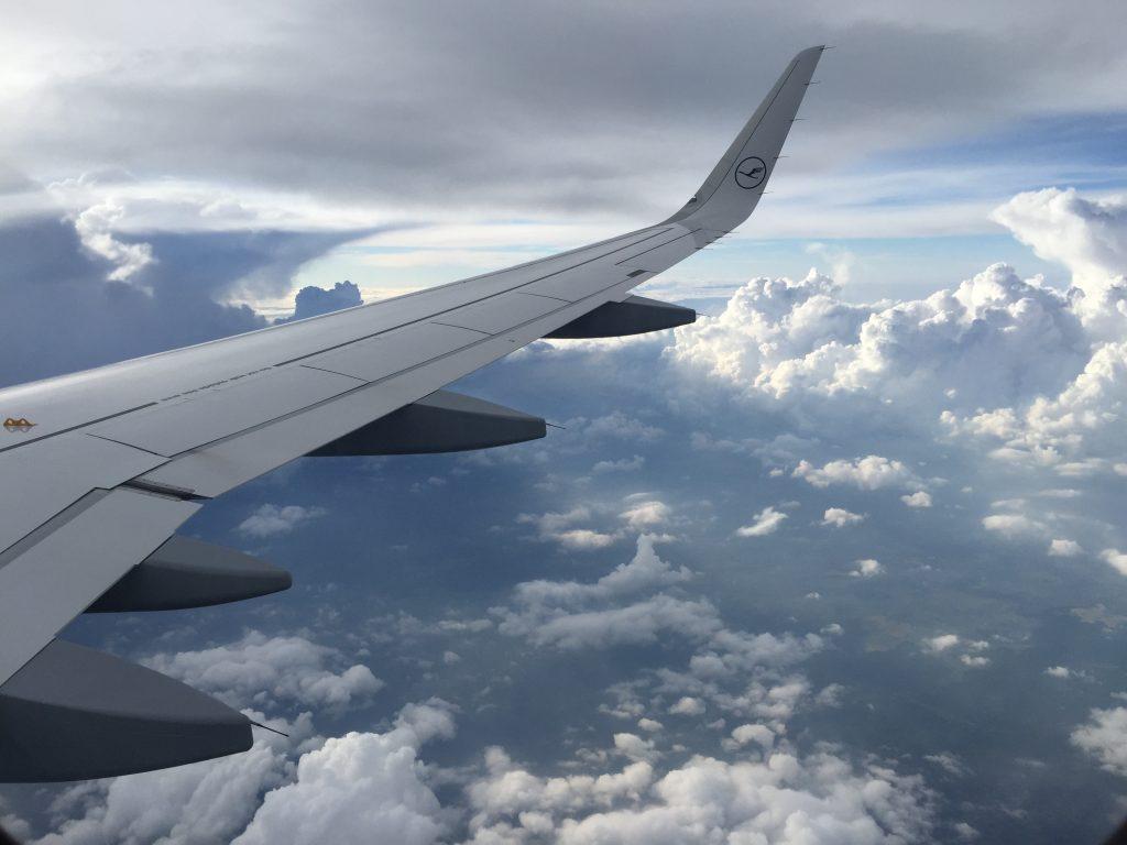 Clouds near Frankfurt