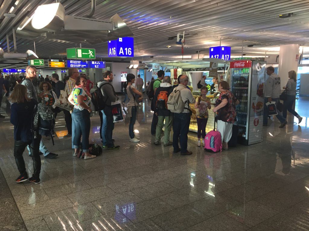 Frankfurt Airport Terminal