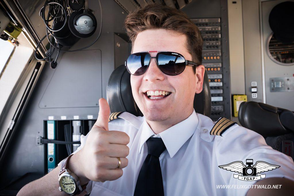 Pilot Felix Gottwald
