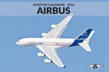 Cover image AIRBUS Aviation Calendar 2016