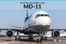 Cover image MD-11 Aviation Calendar 2016
