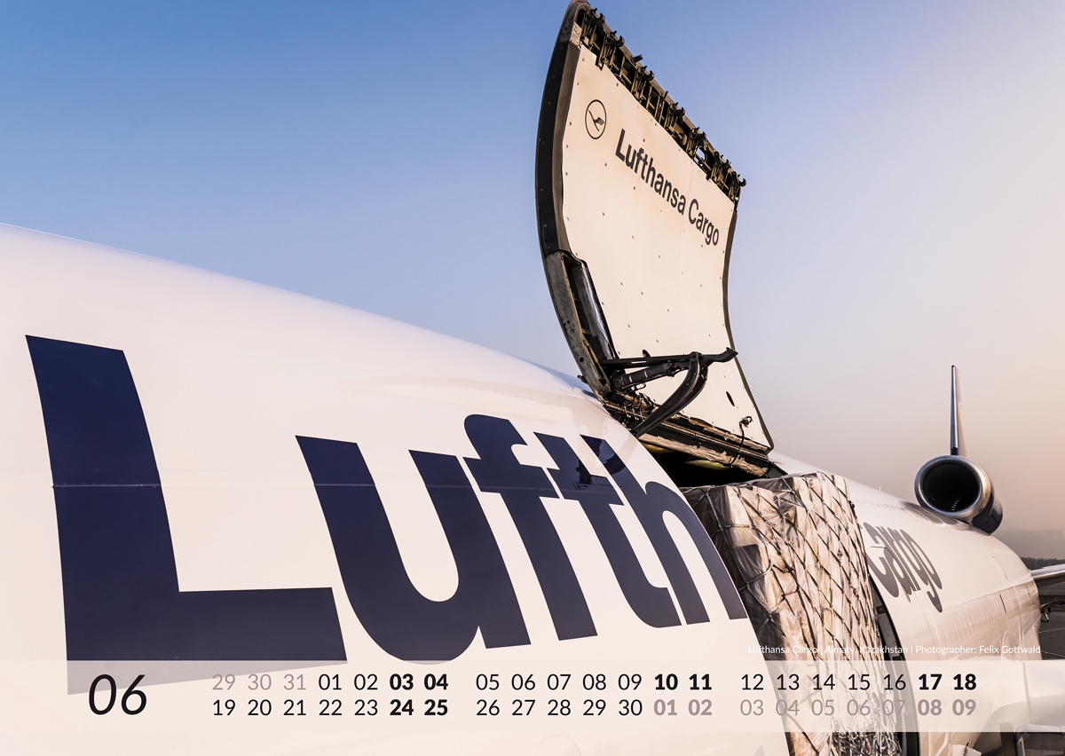 MD-11 Calendar 2017 June image