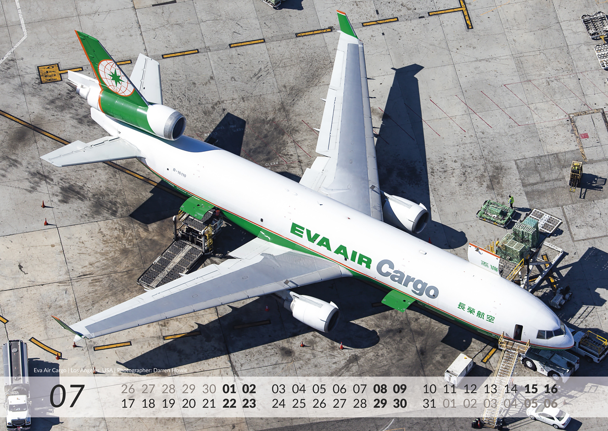 MD-11 Calendar 2017 July image