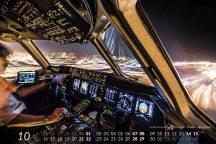 MD-11 Calendar 2017 October image