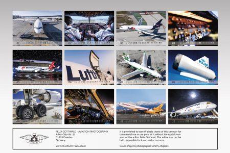 MD-11 Calendar 2017 back cover